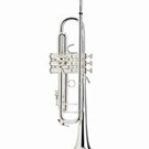 Bach 180S37 Stradivarius Trumpet (Silver Plate, 37 Bell)