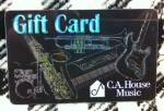 C.A.House Music GIFTCARD15 Giftcard