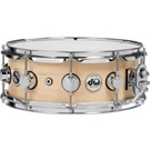 Drum Workshop DRSO5514SQC SO Super Solid Maple Snare w/ Chrome Hardware