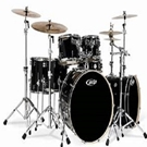 Pacific Drums PDFBCHARGLASS PDFB BN Kit