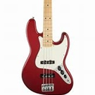 Fender 0146200509 Standard Jazz Bass, Rosewood Fingerboard, Candy Apple Red, 3-Ply Parchment Pickguard, No Bag