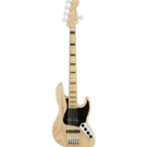 Fender 0197102721 American Elite Jazz Bass V Ash, Maple Fingerboard, Natural