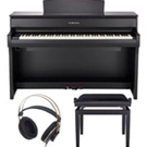 Yamaha CLP675B Clavinova Console Digital Piano with Bench