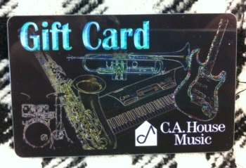 C.A.House Music GIFTCARD125 Giftcard