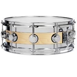 Drum Workshop DRSO0614SEC Edge Snare Satin Oil Chrome Hardware